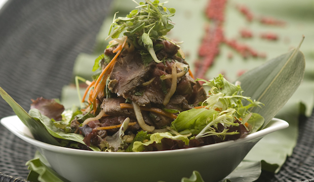Spicy Beef Salad: From Indochine