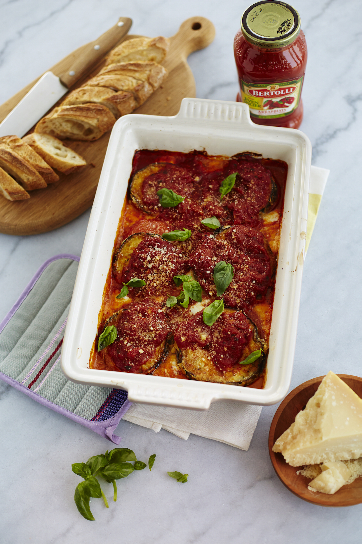 The Ultimate Eggplant Parmesan: Our Dinner Party with Bertolli — The ...