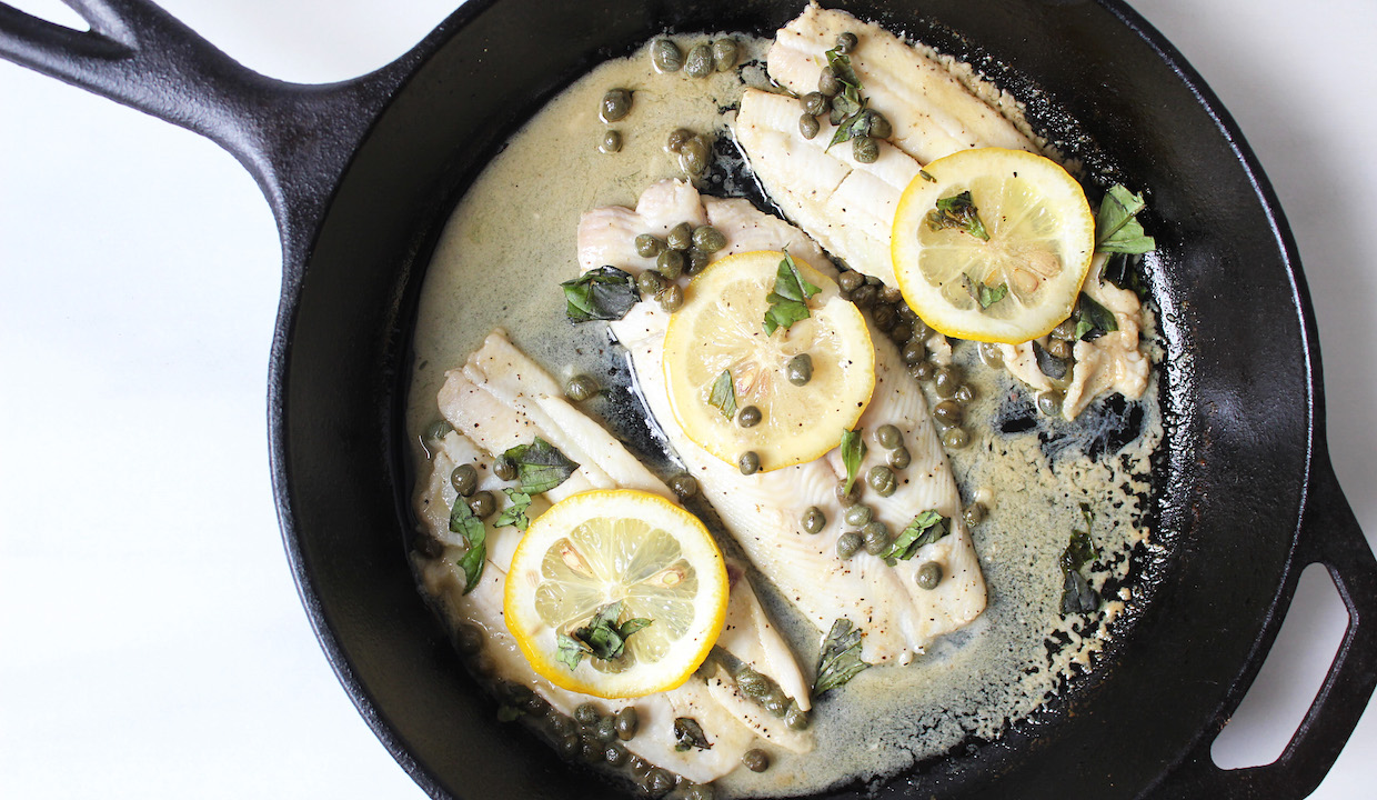 filet-of-sile-poached-in-lemon-caper-sauce-easy-to-make