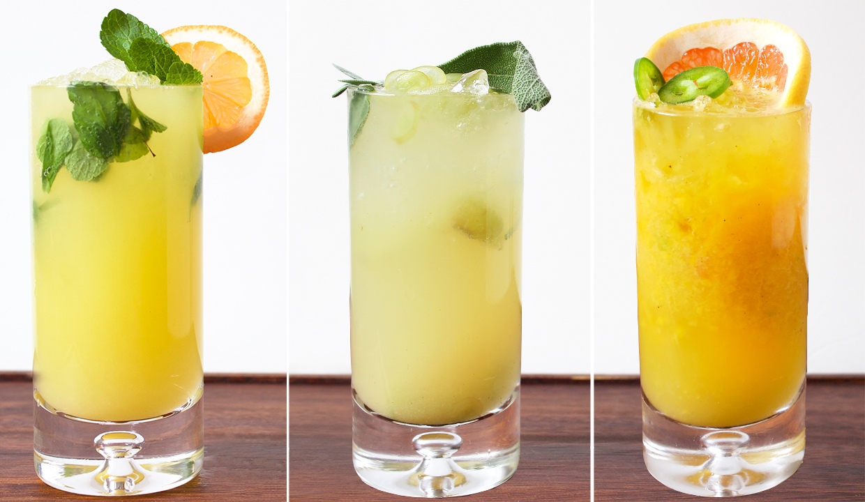 How to make a mocktail for How to make non alcoholic drinks