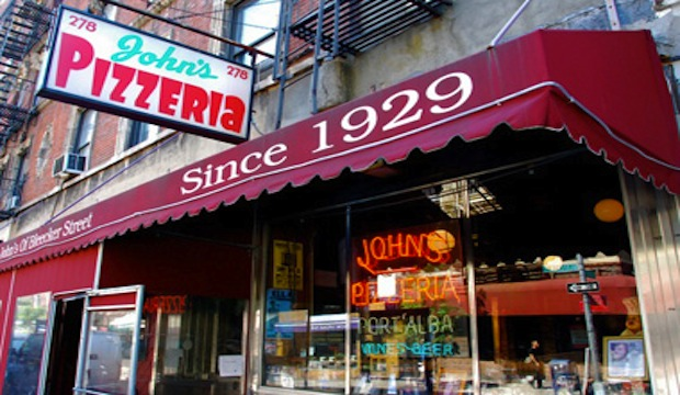 John's of Bleecker Street: Recommended by: Sara Foster (Actress), Jake Lacy (Actor)