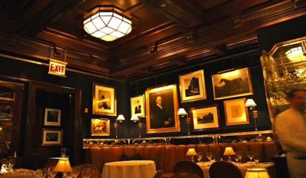 Ralph Lauren Restaurant: Recommended by: Erin Andrews (TV Personality), Bobbi Brown (Makeup Artist), John O'Hurley (Actor)