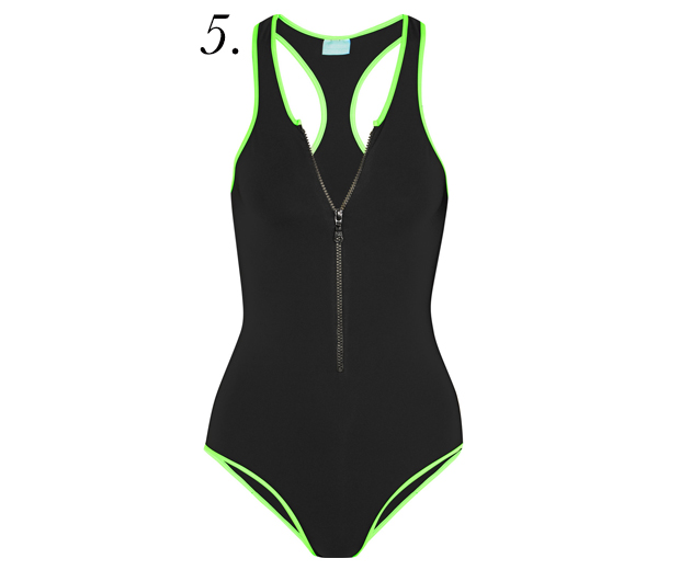 black-neon-one-piece