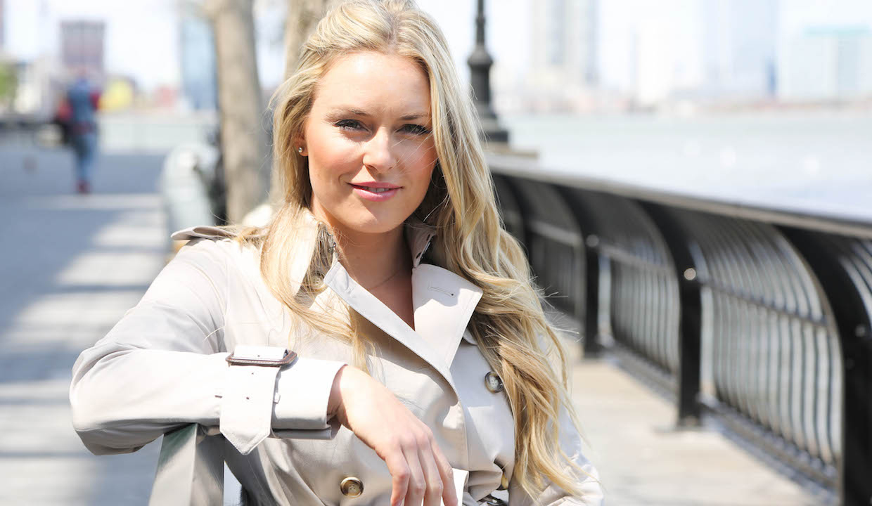 Lindsey Vonn, Olympic Skier, Interview 2015