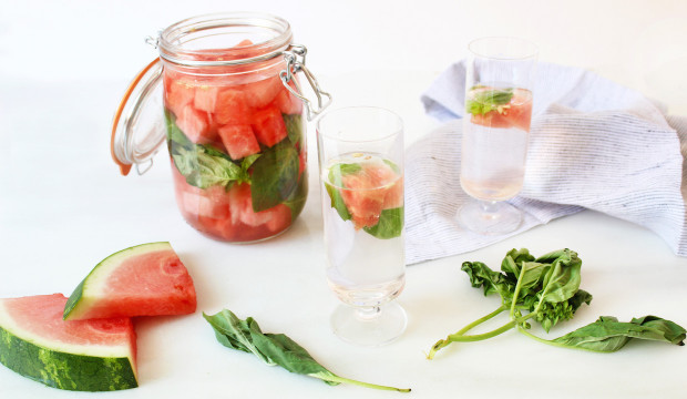 how to infuse watermelon with vodka