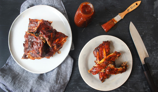 how to cook ribs in the oven at 350