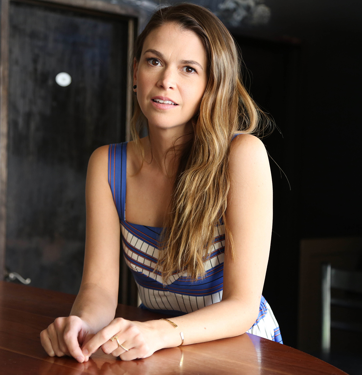 Sutton Foster Younger Interview 2015
