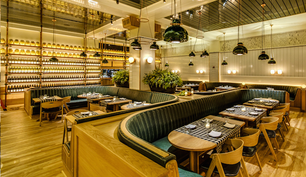 Upland: Recommended by: Chris Stang (Co-Founder, Infatuation), Joyce Chang (Editor-in-Chief, SELF), Anthony Carrino (TV Personality)