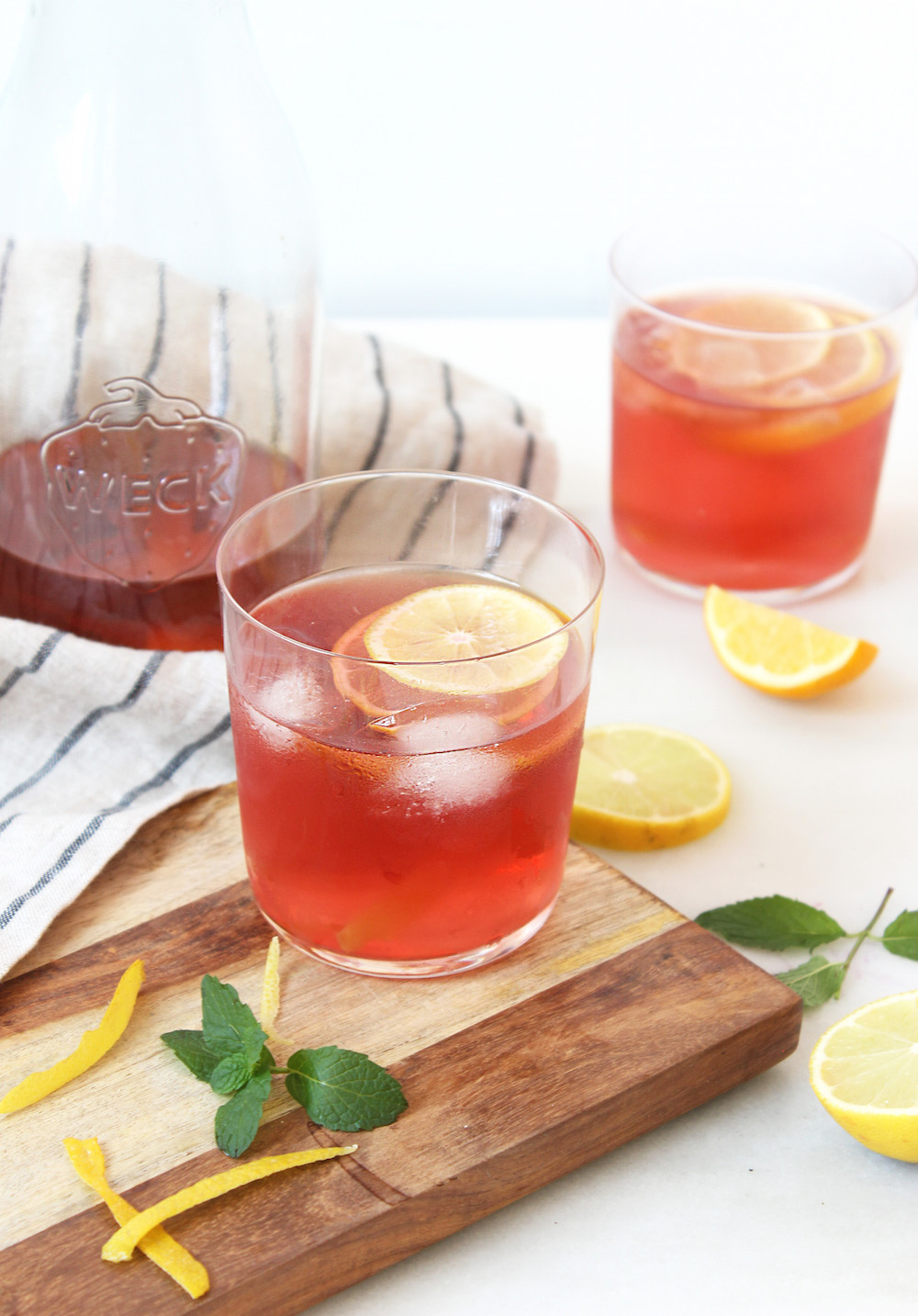 lemon detox tea recipe