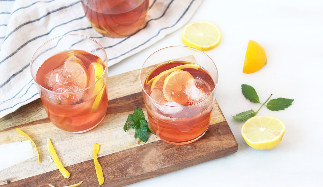 3 Detox Iced Teas: Enjoy Your Cleansing