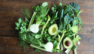 kale-parsley-avocado-fennel-celery-dandelion-greeens-kale-spinach