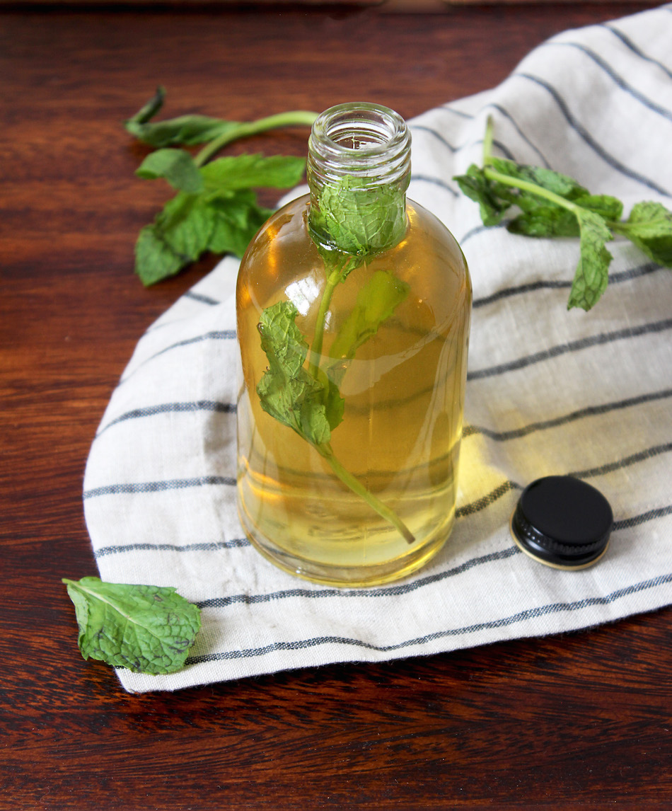 how to make mint simple syrup