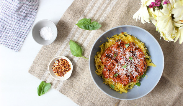 spaghetti squash pasta recipes