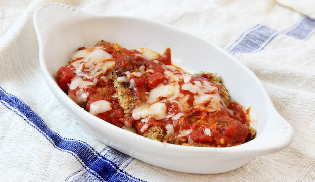 chicken parmesan recipe no breadcrumbs