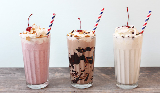 how to make a healthy milkshake