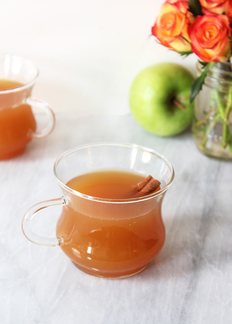 how to make apple cider from scratch