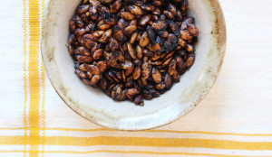 Chocolate Roasted Pumpkin Seeds
