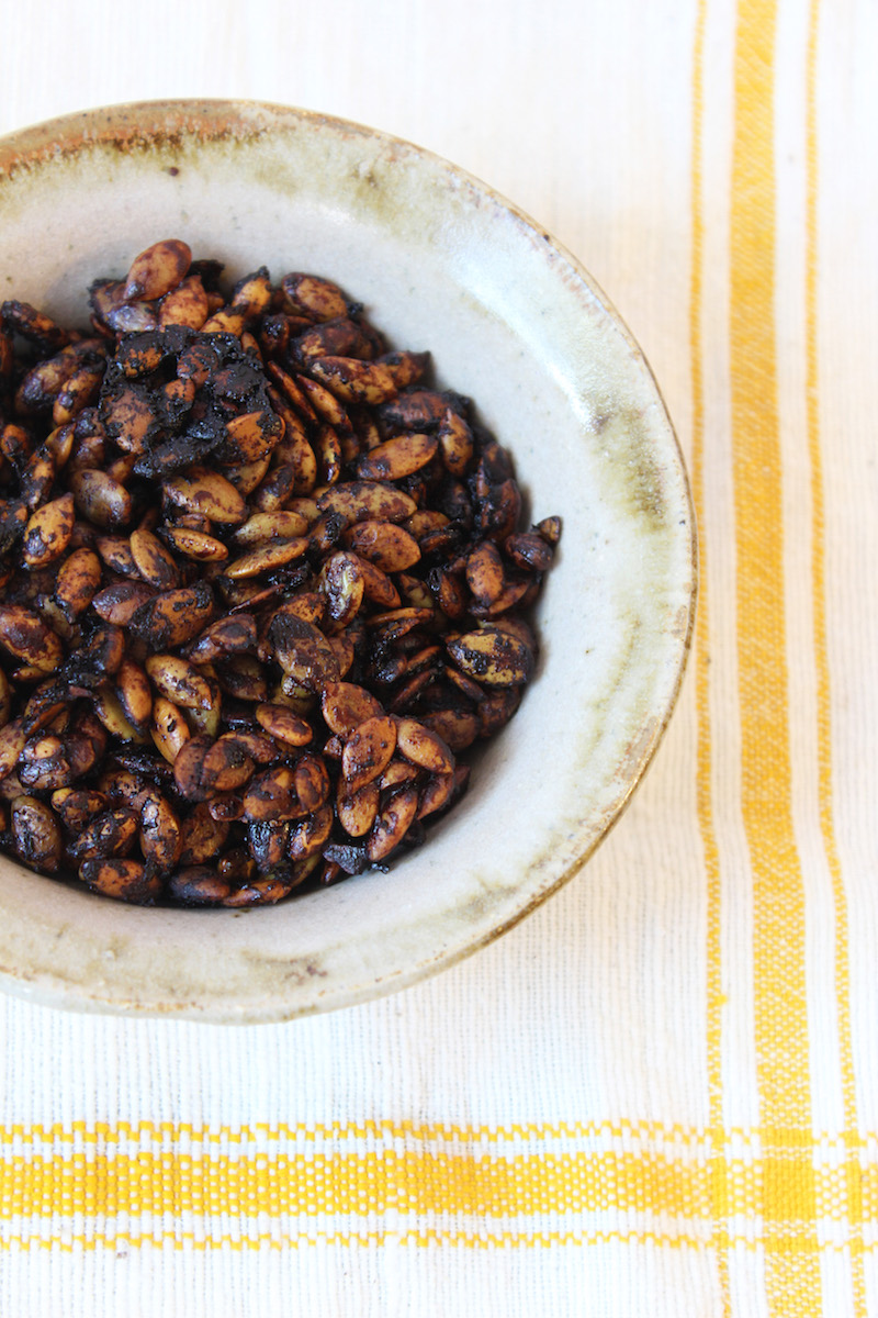 cacao-covered-pumpkin-seeds-recipe