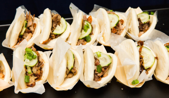 Pork Belly Bao: From Riviera Caterers