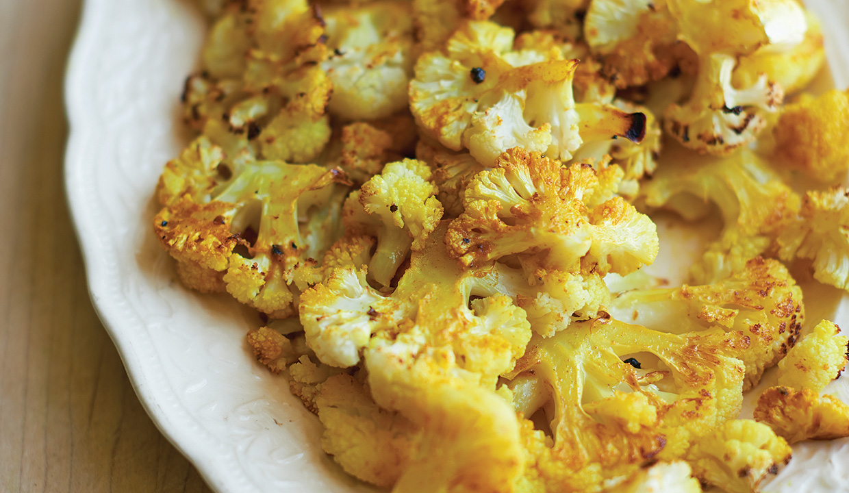 healthy roasted cauliflower recipe