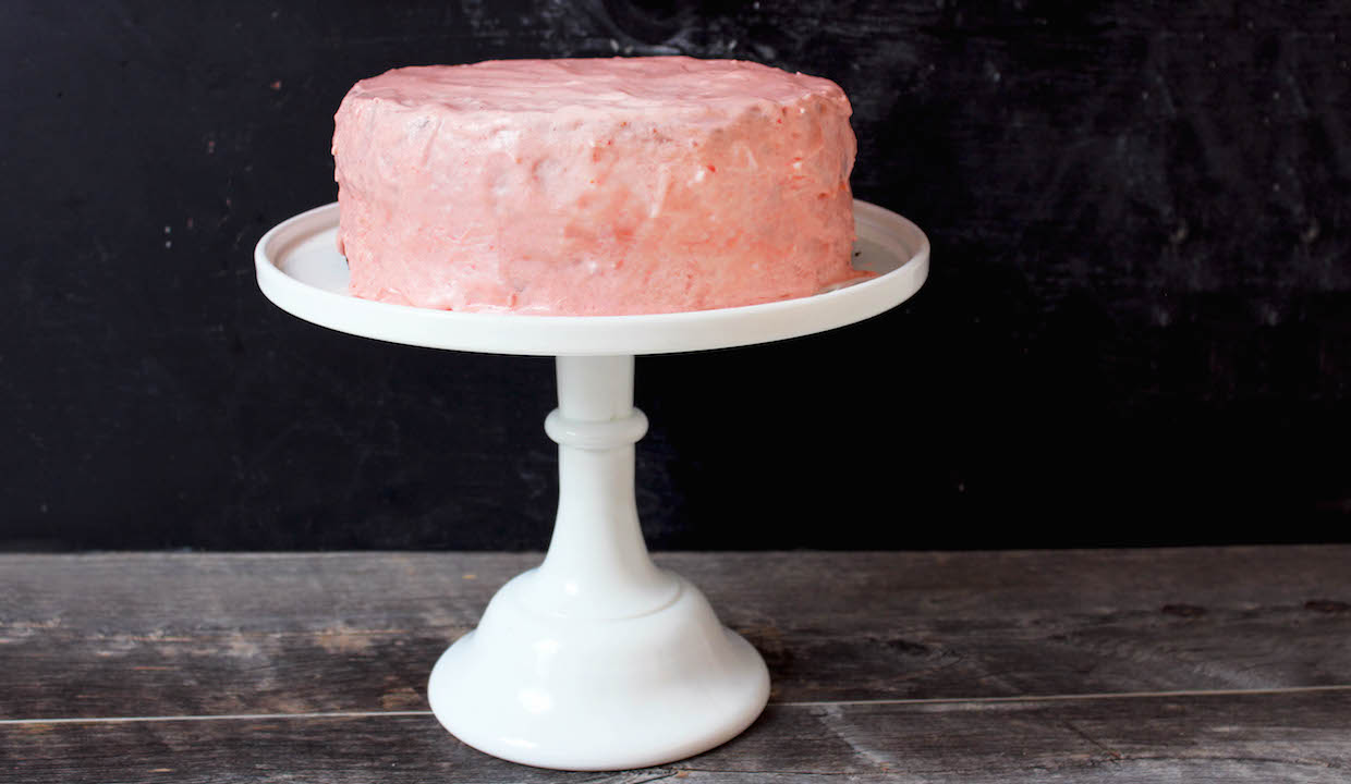 A Gluten Free Birthday Cake Or Just A Cake For A Rainy Day The