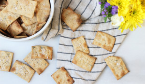 how to make crackers from scratch