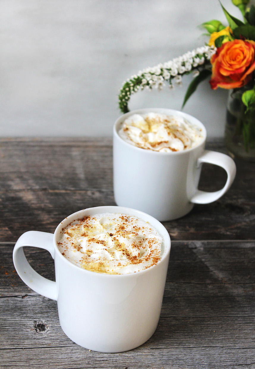 Pumpkin Spice Latte Recipe With Real Pumpkin