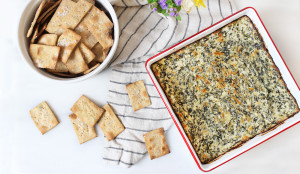 Healthy Spinach and Artichoke Dip Recipe With Greek Yogurt