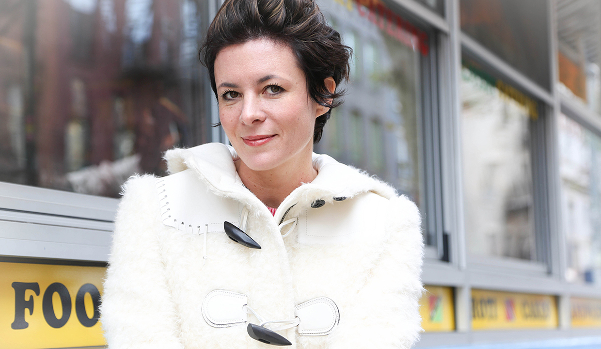 Garance Doré: Says Don't Freak Out & Let Your Boyfriend Mess Up Your Hair