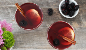 Honey-Blackberry Mulled Wine