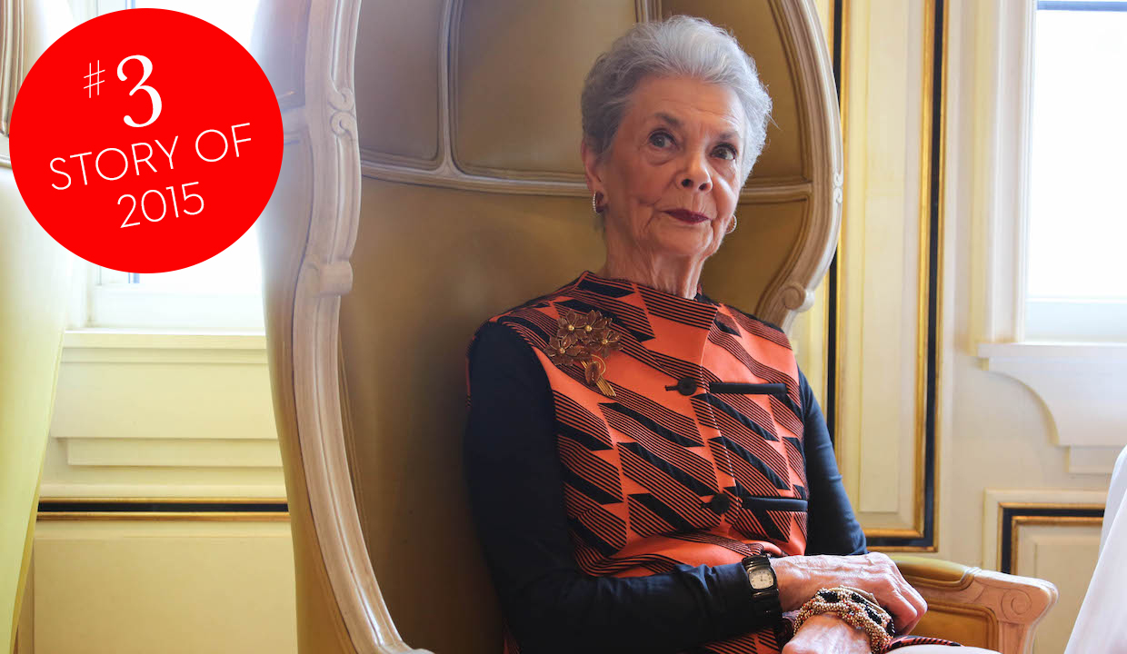 Bergdorf Goodman's Betty Halbreich: #3 Of Our Top Stories Of 2015