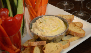 Roasted Garlic and White Bean Dip