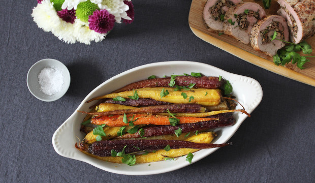 roasted-carrots-with-maple-mustard-glaze
