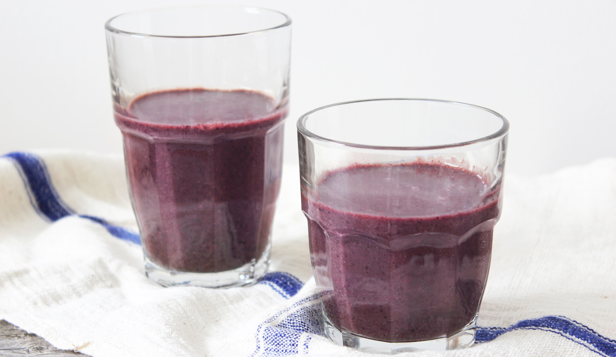 Almond Butter Crunch Berry Smoothie: From Dr. Daryl Gioffre