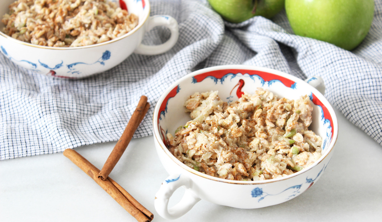 Apple and Almond Butter Oats: From Dr. Daryl Gioffre
