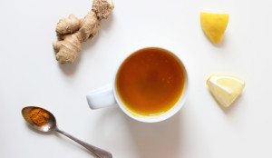 Lemon Ginger Turmeric Tea
