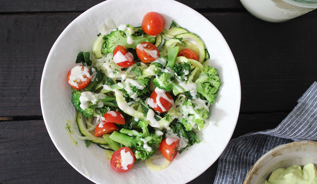Green Goddess Bowl with Avocado Cumin Dressing: From Dr. Daryl Gioffre