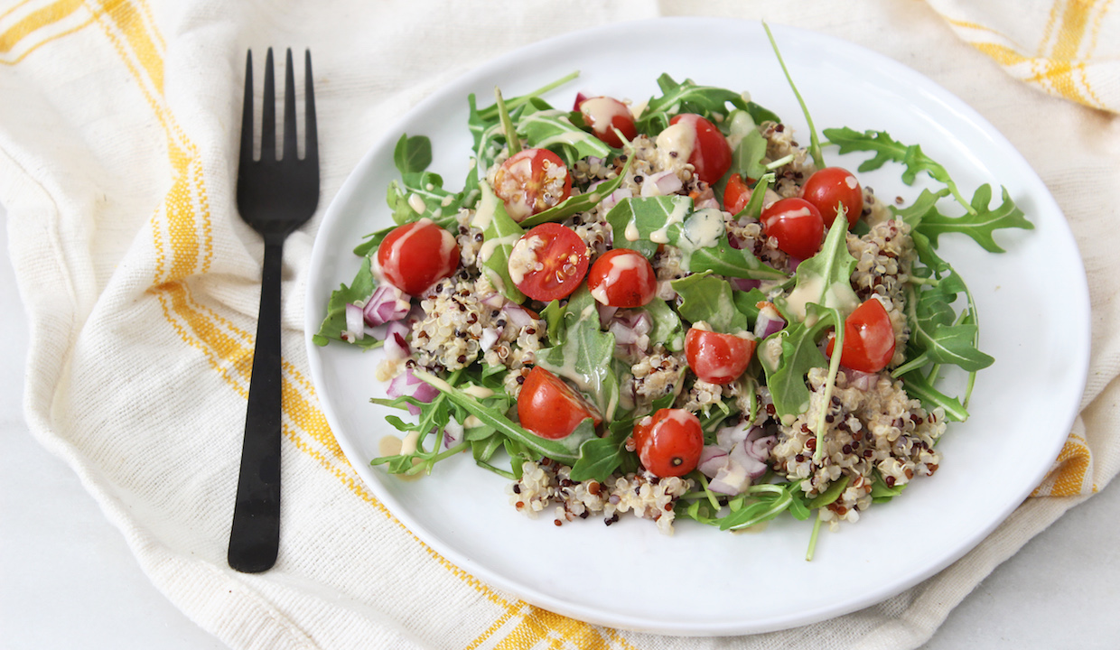 Thai Quinoa Salad: From Dr. Daryl Gioffre