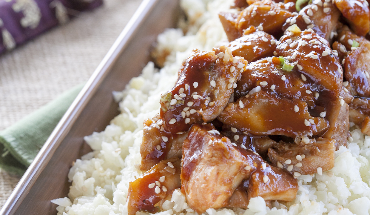 Slow Cooker Sesame-Orange Chicken: From Danielle Walker