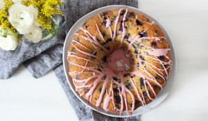 Blueberry & Blood Orange Pound Cake