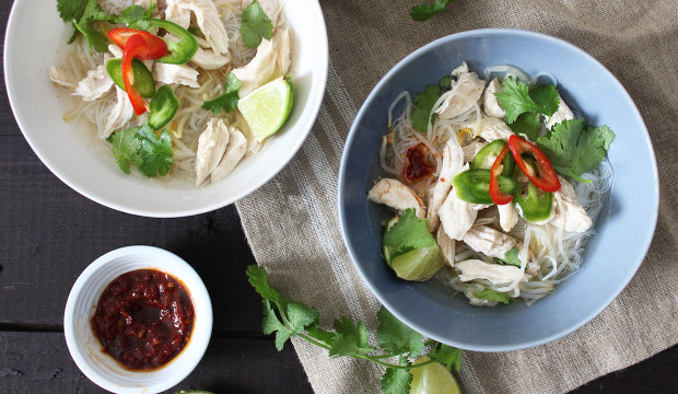 Chicken Pho - Get the Recipe Here!