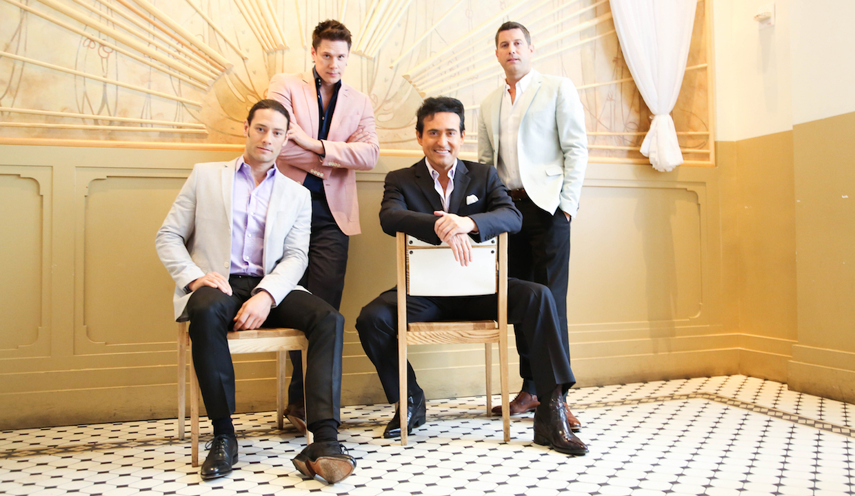 Multi-Platinum Group Il Divo: On What We Don't Know About Men & Romantic Foods