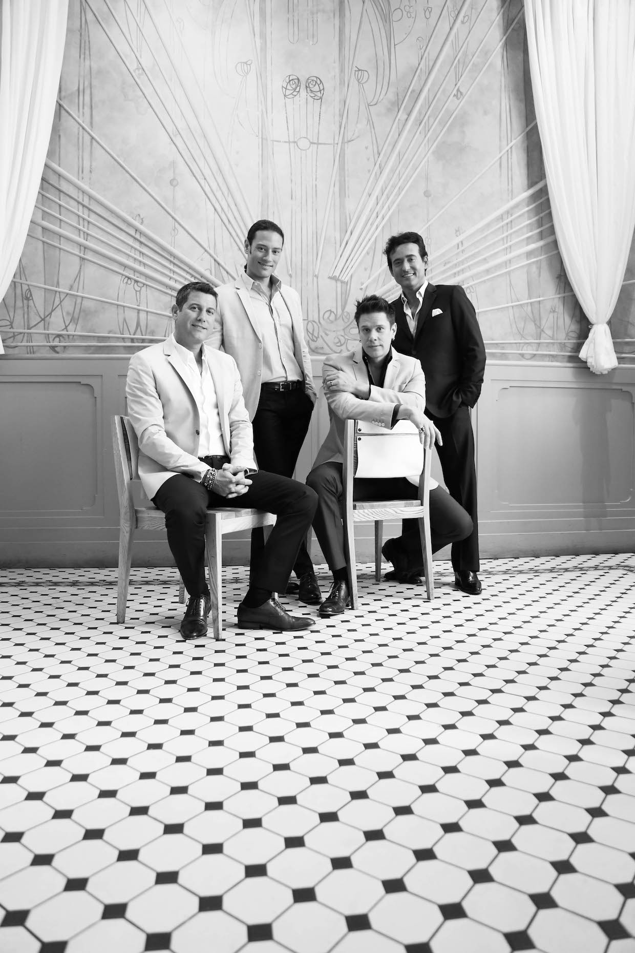 Il Divo Interview 2016
