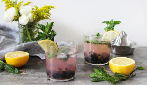 Blueberry Lemonade Cocktail