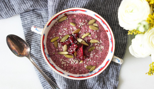 Blood Orange Chia Bowl