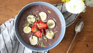Chocolate Acai Bowl