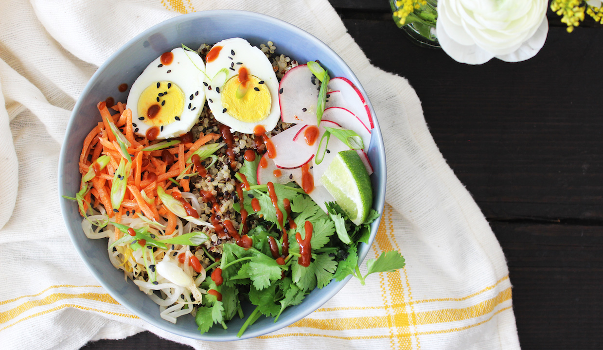 Miso Quinoa Bowl: TNP Originals