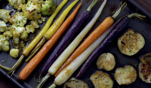 Miso Roasted Vegetables