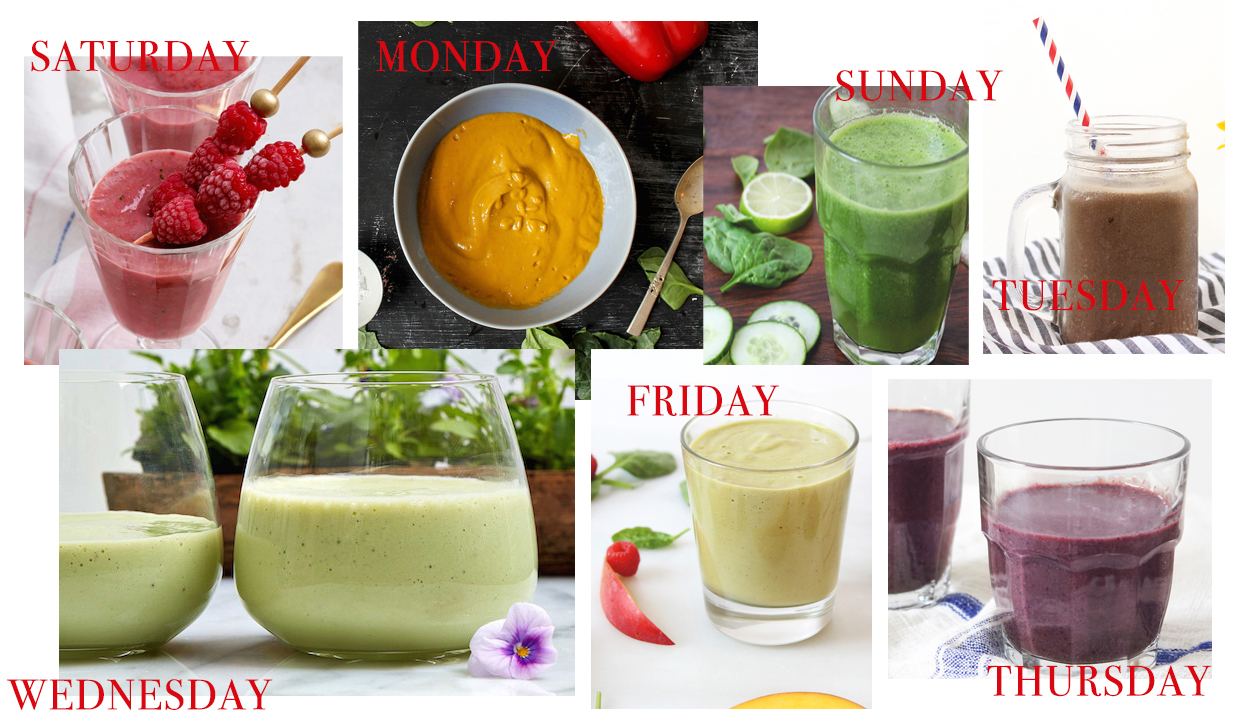 7 days of smoothies a great one week detox the new potato. Black Bedroom Furniture Sets. Home Design Ideas