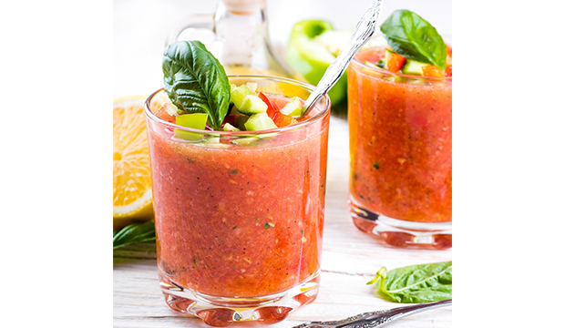 Spring Gazpacho: From Dr. Daryl Gioffre